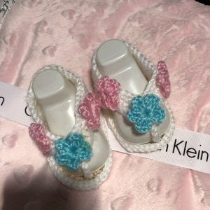 Other - Crochet baby girl sandals